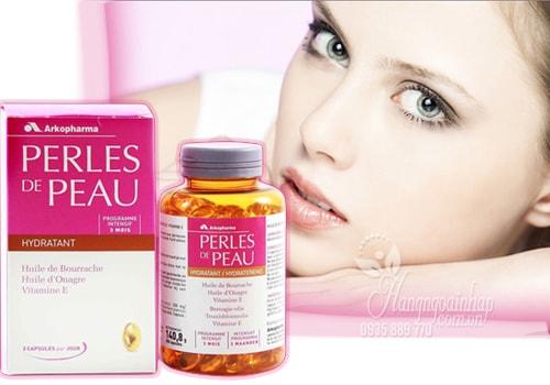 Công dụng của viên uống đẹp da Perles de peau hydratant