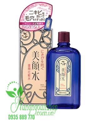 nước hoa hồng trị mụn Meishoku
