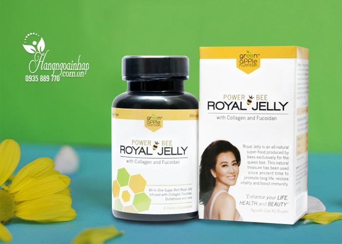 Sữa ong chúa Power Bee Royal Jelly hàng xách tay Mỹ