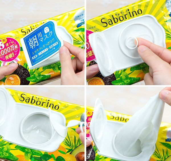 Cách sử dụng mặt nạ Saborino