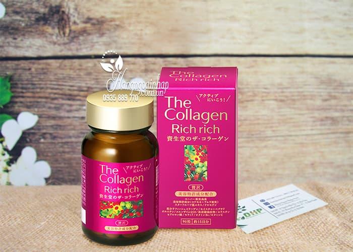 The collagen rich rich của Nhật
