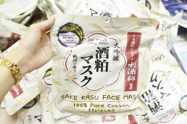 Mặt nạ sake kasu face mask 33 miếng