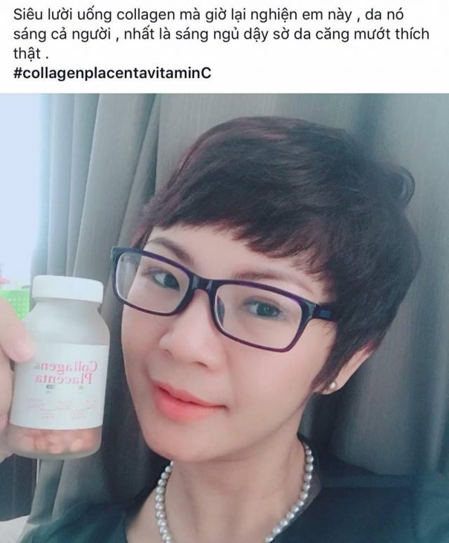 Viên uống collagen placenta review