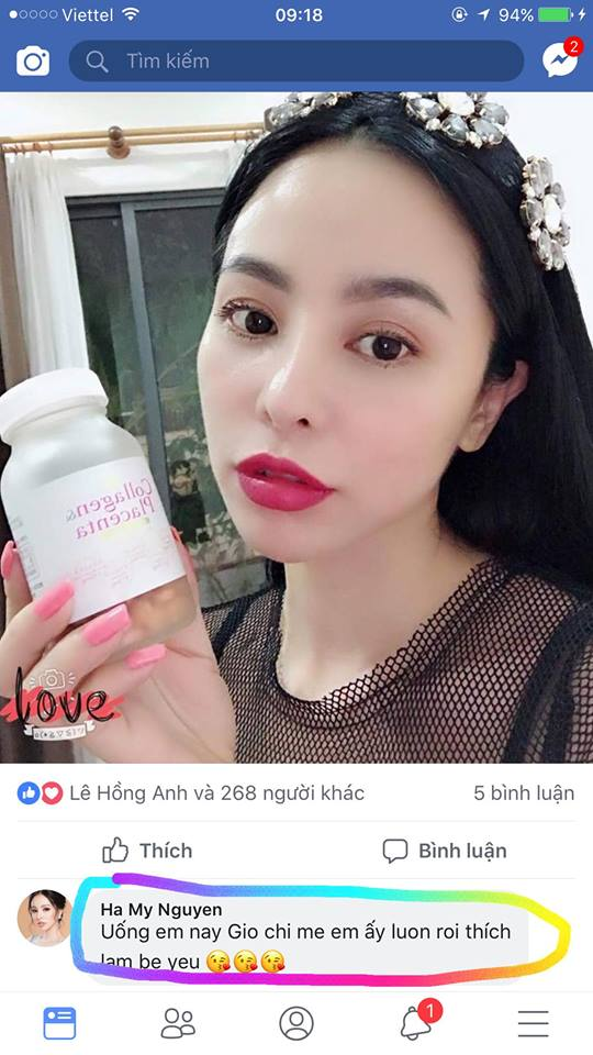 Viên uống collagen placenta review4