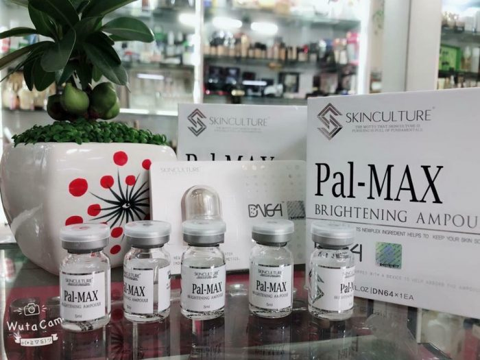 pal-max brightening ampoule