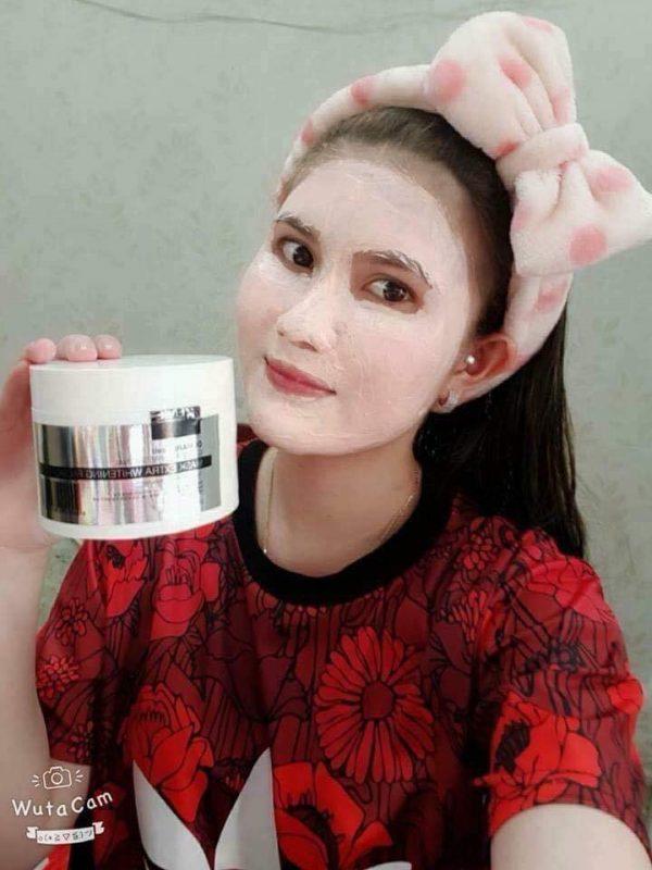Thông tin về kem ủdemar87 cell genie professional mask extra whitening facial